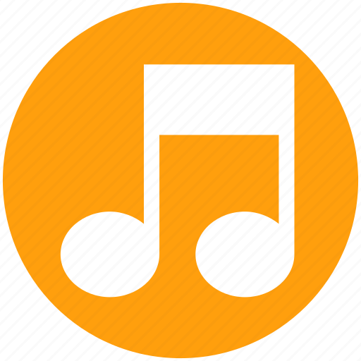 eight note, multimedia, music, musical note, note, sound icon