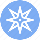direction, gps, location, location pin, navigation, pointer, wind rose icon