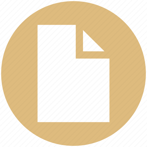 blank, contract, document, file, new, page, paper icon