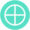 circle, line, plus, random, sign icon