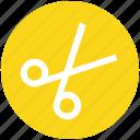 barber, crop, cut, cutting, scissor, scissors, tool icon