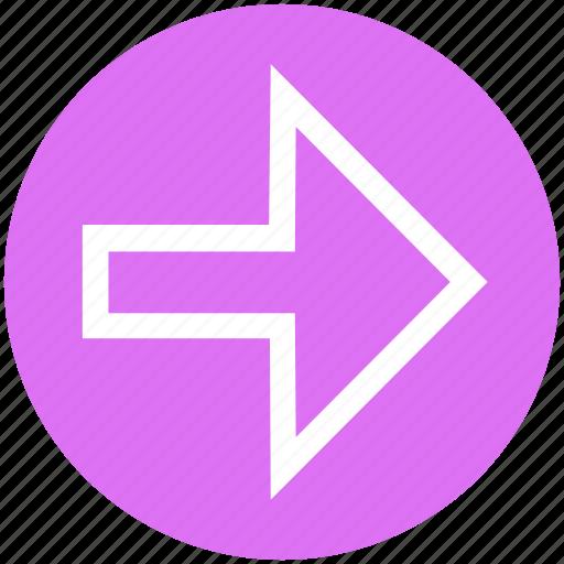 arrow, direction, next, right, right arrow icon