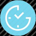 alarm, clock, optimization, time, time optimization, watch icon