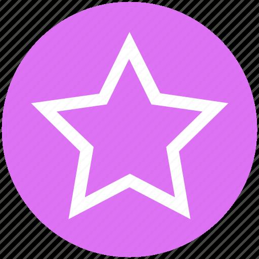 badge, bookmark, favorite, rate, rating, star icon