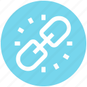 chain, connect, hyperlink, link, linkage, url icon