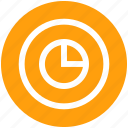 analytic, business, circle, circle chart, graph, pie icon