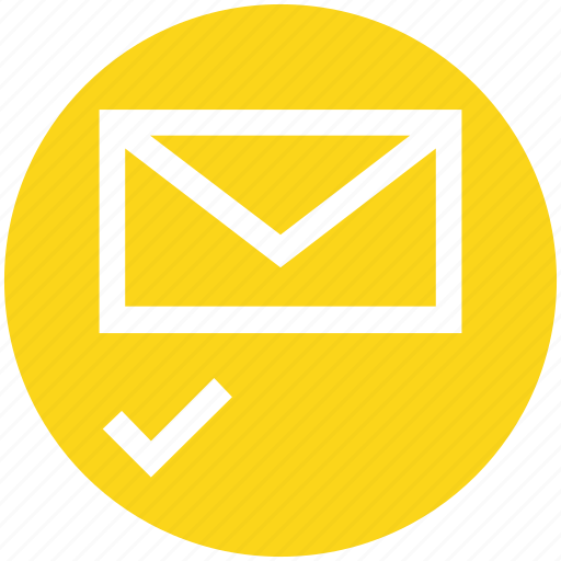 access, check, email, envelope, letter, mail, message icon