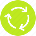 arrows, loading, refresh, reload, sync, synchronize, update icon