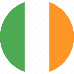 country, flag, ireland, nation icon