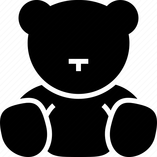 bear, child, plush, teddy, toy icon