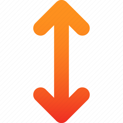 arrow, side, two icon