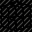 cubes, geometric cubes, geometric design, geometric texture, seamless pattern icon