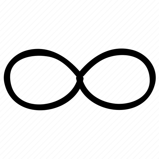 endless, endlessness, infinity, infinity symbol, lemniscate, limit icon