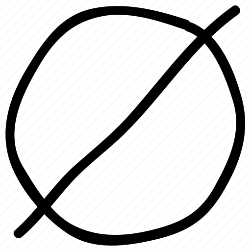 empty set, math, math sign, mathematical symbol, null symbol icon
