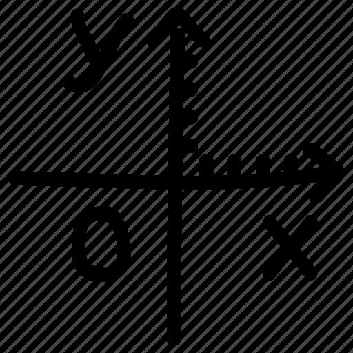 cartesian coordinate system, math, mathematic, mathematical formula icon