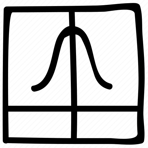 distribution function, gaussian function, math, mathematics icon