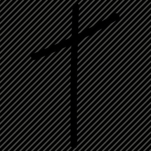 math, mathematical symbol, mathematics, not divide icon