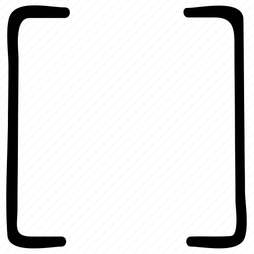 algebra math symbol, algebra symbol, brackets, calculate expressions inside first, math icon
