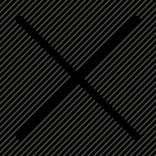 cancel, maths symbol, multiplication, multiply, operator, remove icon