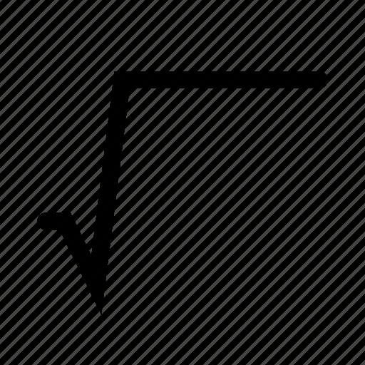 Картинка корня математического