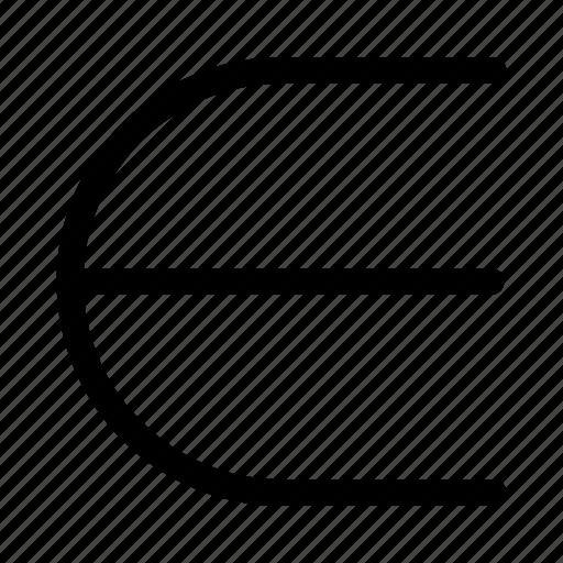 element of, epsilon, expression, math sign, math symbol icon