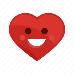 good, happy, health, heart, medical, nice, positive icon