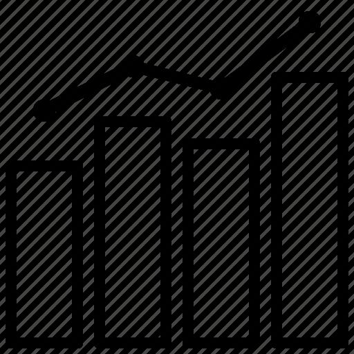 analytic, business, marketing, statistics icon