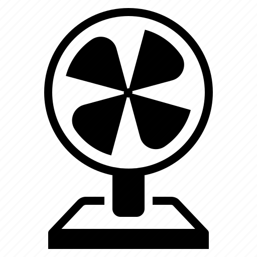 desk fan, electric fan, fan, household icon