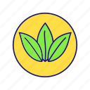 eco, eco friendly, ecological, environment, natural, nature, organic icon