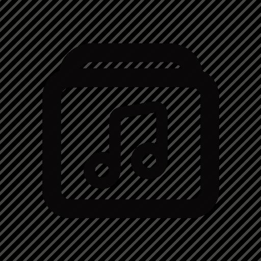 Album, audio, media, music, sound icon - Download on Iconfinder