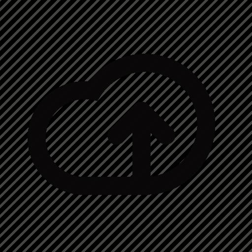 cloud, ic, upload icon