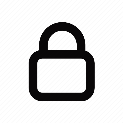 lock, locked, protection, secure, security icon