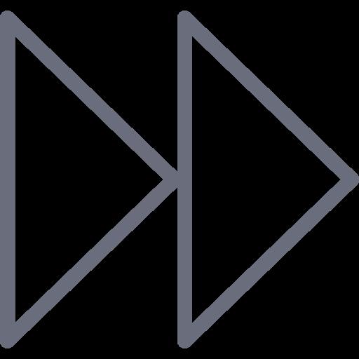 arrows, media, next, player, previous, recording, right icon