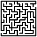 business labyrinth, game, hedge maze, labyrinth, maze, puzzle icon