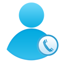 call, call center, user icon