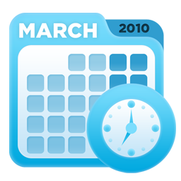calendar, recycle icon