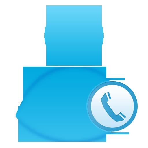 call, call center, user icon