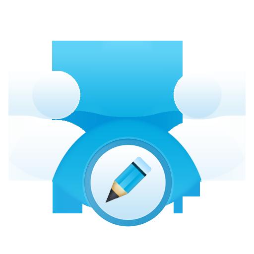 edit, group icon