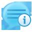 blog, info icon