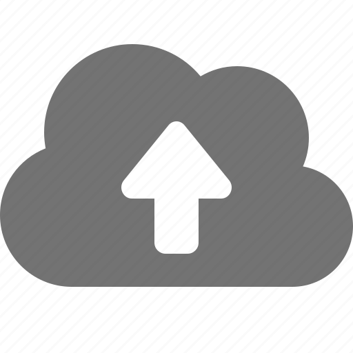 arrow, backup, cloud, data, online, up, upload icon