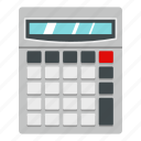 business, calculator, display, education, math, mathematics, technology icon