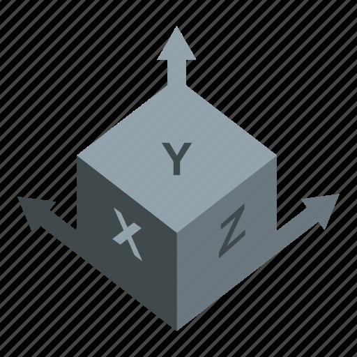 dimension, mark, measurement, scale, shape, size, view icon