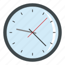 circle, clock, hour, minute, round, time, wall icon