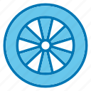 car, gear, mechanic, repair, tire, tools, wheel icon