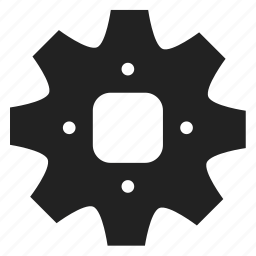 cogwheels, gear, interlink, interlocked, mechanics, screw, tool, tools icon