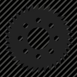 cogwheel, gearwheel, mechanics, rackwheel, tool, tools icon