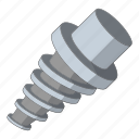 construction, spiral, tool, work icon