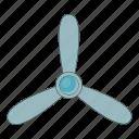 air, fan, propeller, tool icon