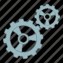 gear, gears, options, settings icon
