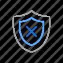 gold, medal, premium, reward, shield icon